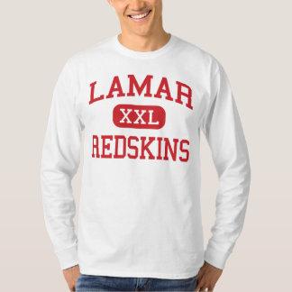 Lamar - Redskins - High School - Houston Texas T-Shirt