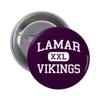Lamar - Vikings - High School - Arlington Texas Pins