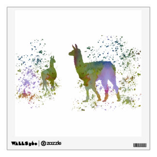 Lamas Wall Decal
