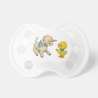 Lamb and Duck Pacifier