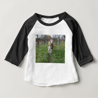 Lamb and sheep baby T-Shirt