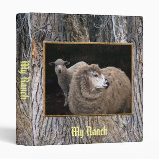 Lamb and Sheep Vinyl Binders