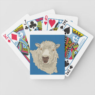 Lamb Bicycle Playing Cards