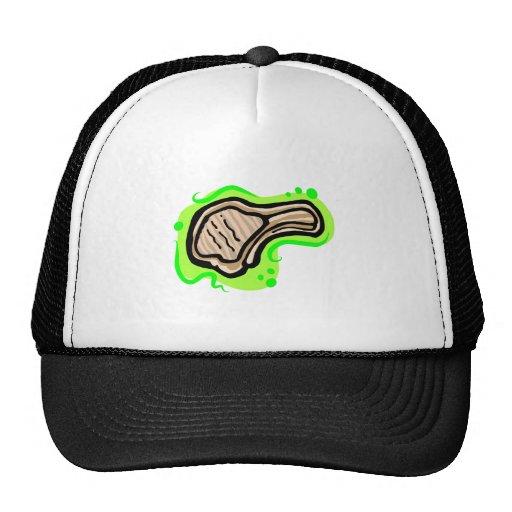 Lamb chop trucker hat