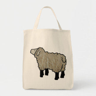 Lamb Knitting Bag
