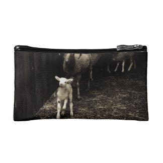 Lamb on the Run Makeup Bag
