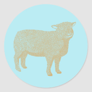 Lamb Sheep Sticker