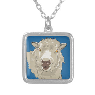 Lamb Silver Plated Necklace
