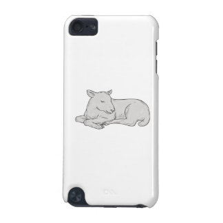 Lamb Sleeping Drawing iPod Touch 5G Cover