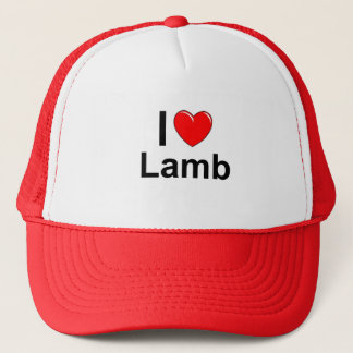 Lamb Trucker Hat