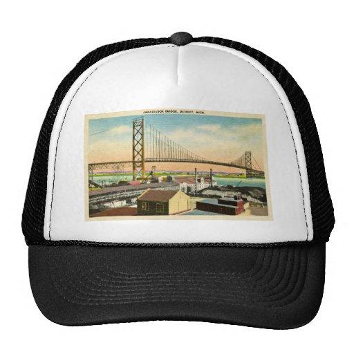 L'Ambassadeur Bridge cru de Detroit, Michigan Casquettes De Camionneur