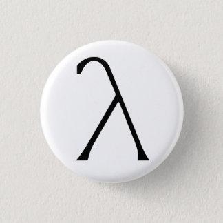 Lambda Badge 1 Inch Round Button