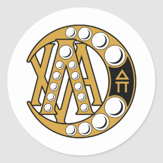 Lambda Chi Alpha Badge Classic Round Sticker