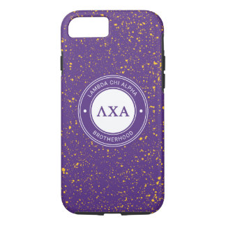 Lambda Chi Alpha | Badge iPhone 8/7 Case
