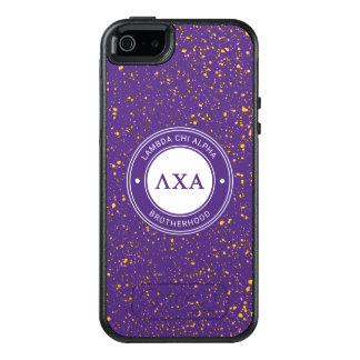 Lambda Chi Alpha | Badge OtterBox iPhone 5/5s/SE Case