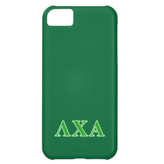 Lambda Chi Alpha Green Letters Case For iPhone 5C