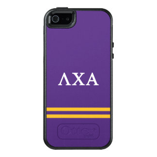 Lambda Chi Alpha | Sport Stripe OtterBox iPhone 5/5s/SE Case