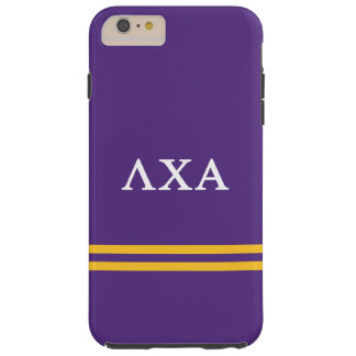 Lambda Chi Alpha | Sport Stripe Tough iPhone 6 Plus Case