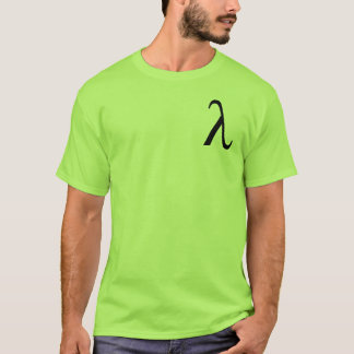 Lambda (small logo) men's t-shirt