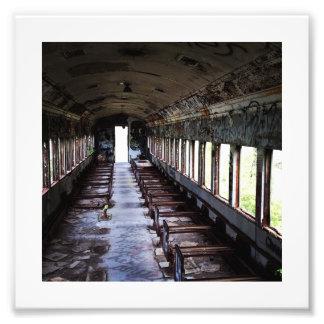 Lambertville train photo print