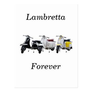 lambretta postcard