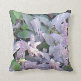 LAMBS EAR BLOSSOMS THROW PILLOW