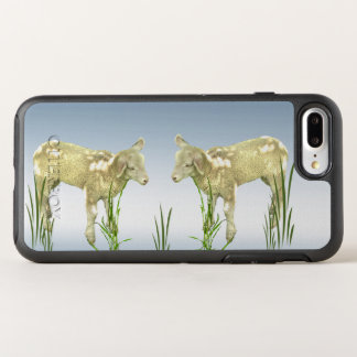 Lambs with Green Grass Farm Animal OtterBox Symmetry iPhone 7 Plus Case
