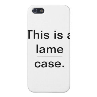 lame case iPhone 5 cases
