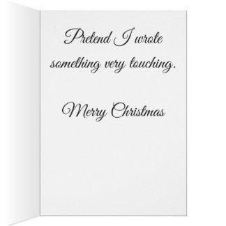 Lame Christmas Card