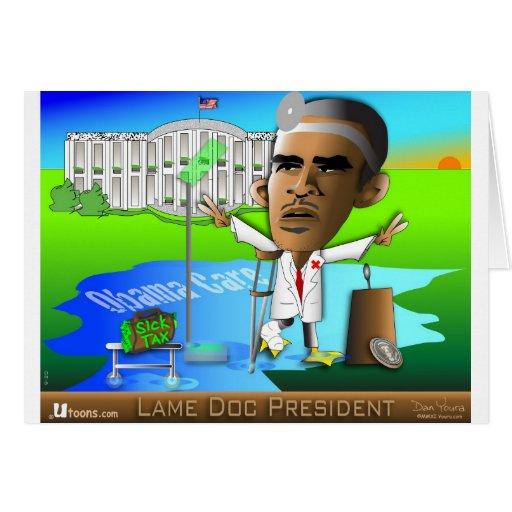 Lame Doc President Card
