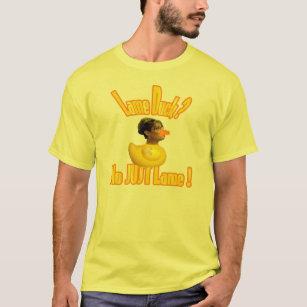 Lame Duck Sarah Palin Resigns Jokes T Shirt