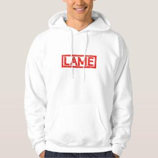 Lame Stamp Hoodie
