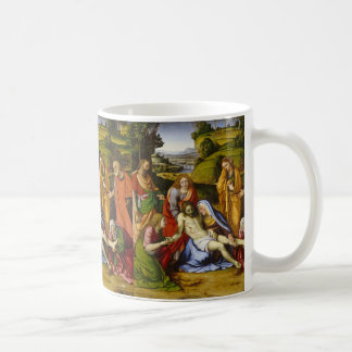 Lamentation by Andrea Solario Coffee Mug