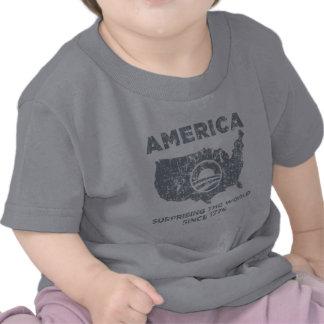 L'Amérique : Étonnant le monde T-shirt