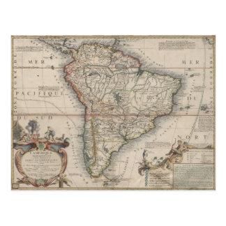 L'Amerique Meridionale (1689) Postcard