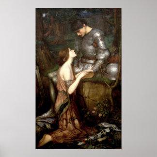 Lamia (1905) by John Waterhouse Poster