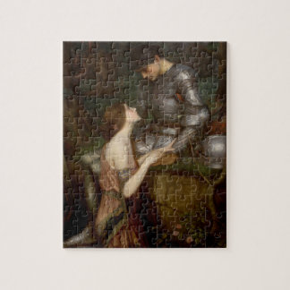Lamia and the Soldier by JW Waterhouse Jigsaw Puzzle