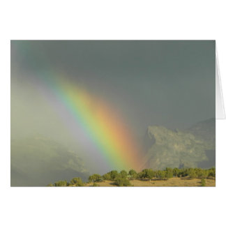Lamoille Canyon Rainbow Card