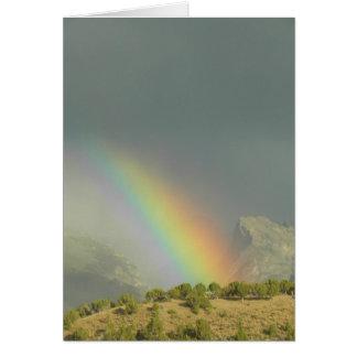 Lamoille Canyon Rainbow Card