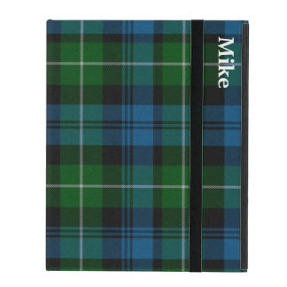 Lamont Clan Plaid Custom iPad Case