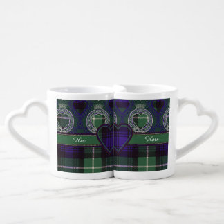 Lamont clan Plaid Scottish tartan Coffee Mug Set