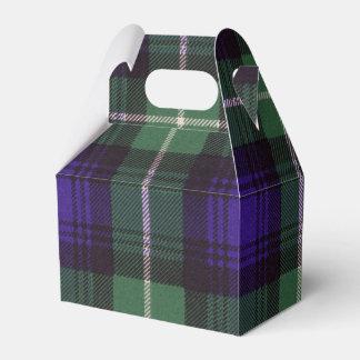 Lamont clan Plaid Scottish tartan Favor Box