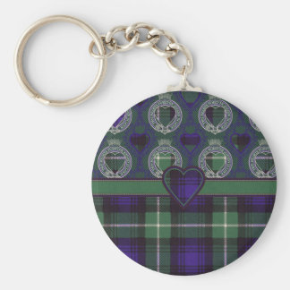 Lamont Scottish tartan Keychain