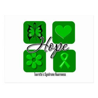 L'amour d'espoir de syndrome de Tourettes Cartes Postales