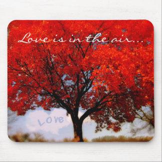 L'amour est dans le ciel… tapis de souris