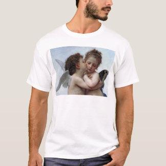 L'Amour et Psyché, Enfants – William Bouguereau T-Shirt