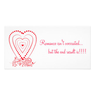 L'amour Photo Card Template