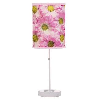 Lamp - Accent - Pink Gerbera Daisies