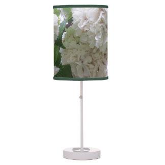 Lamp - Accent - White Hydrangea
