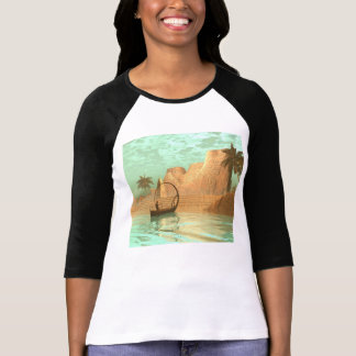 Lamp boat with fairy tee shirts